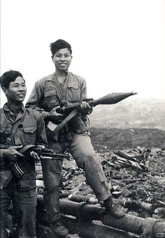 Quang Tri. North Vietnamese army soldiers