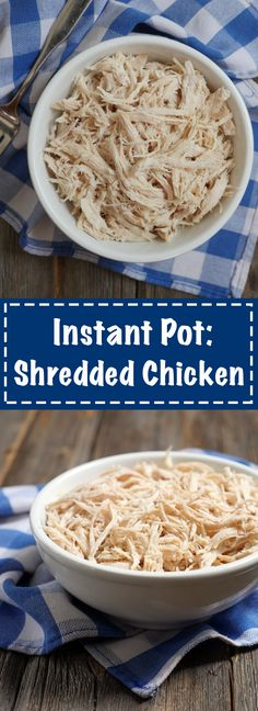 make shredded chicken and eat it throughout the week!! the perfect way to meal prep for busy days! recipe on myheartbeets.com