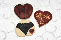 Burlesque Sugar Cookies