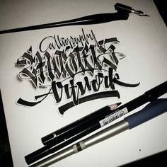 Calligraphy by @paindesignart -  'Calligraphy Masters Artwork' #calligraphy #calligraphymasters #calligraffiti #handmade #handwriting #freehand #fraktur #lefthand #lettering #typism #script #art #design #effect #copperplate #flatpen #brushpen #ink #pencil #custom #customlettering by calligraphymasters