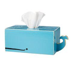 Whale Tissue Box Holder | tissue box, ocean, aquatic | UncommonGoods