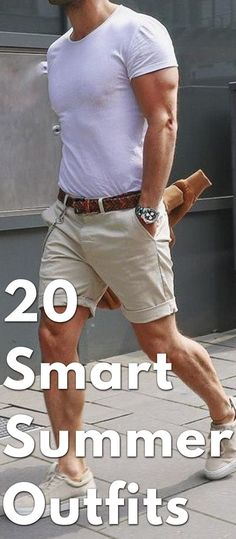 Latest Summer Fashion Trends For Men 2019 - The Hust Latest Summer Fashion, Summer Fashion Trends, Fashion For Short Men, Summer Outfits Men, Stylish Mens Outfits, Casual Outfits, Men Casual, Style Masculin, Look Man