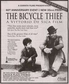 a beautiful film. My introduction to subtitles  vintage foreign films as a 'new' New Yorker living in the Village.