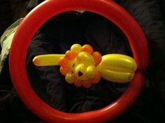 Circus party balloon animals