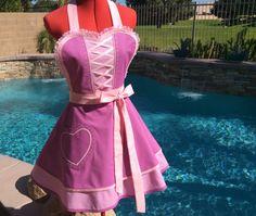 Princess Rapunzel inspired Sassy Apron  Cosplay by sassyapron