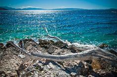 Čiovo Island close to the city of Trogir, Croatia.