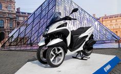 Yamaha PH launches Tricity scooter