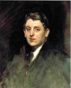 Portrait of Julian Alden Weir, Impressionist artist (1852-1919). Painted by, Gilded Age Artist: John Singer Sargent, in c.1890.