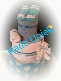 Luiertaart 1 Geboorte jongen Kado.uniek1@gmail.com