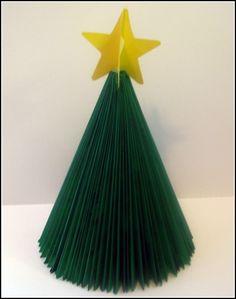 How To:  Magazine Christmas Tree