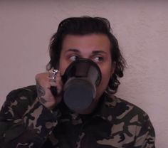 Look at this cute little man. // Frank Iero