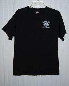 Harley Davidson Men's Medium Black Short Sleeve T Shirt Ft Walton Beach  #HarleyDavidson #GraphicTee