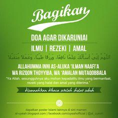 Doa Islam, Islam Muslim, Allah Islam, Islamic Dua, Islamic Quotes, Words Quotes, Me Quotes, Foto Poster, Just Pray