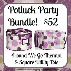 Potluck Party Thirty One Fall 2014 Thirty One Fall, Thirty One Totes, Thirty One Gifts, Thirty One Business, 31 Gifts, 31 Bags, Personal Organizer, Utility Tote, Handbag Organization