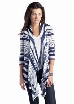 Jessica Simpson  Skylar Striped Cozy Cardigan