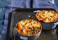 Lamb and mint is a match made in hearty heaven. And a sweet potato top is the icing on the pie…