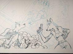Illustration en cours. Jack Wolfgang. #graphicnovel #bandedessinée #wolf #loup  #digital #photoshop #jackwolfgang #secretagent #agentsecret  #henrirecule #artist #dessinateurBD Wolf, Photoshop, Illustration, Novels, Fine Art, Digital, Gallery, Happy, Artist