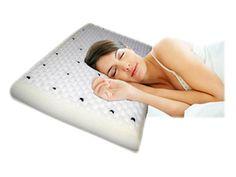 Travesseiro Magnetizado Senday  Possui 30 magnetos que ativam a circulação, Espuma perfilada que auto massageia, Alivia dores de cabeça, tensão nos ombros, bursite.