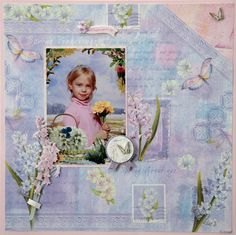 Flower girl - Scrapbook.com