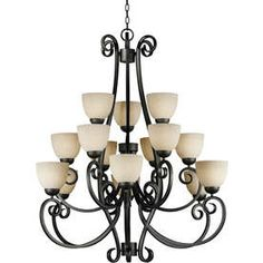15-Light Shandy Bordeaux Chandelier