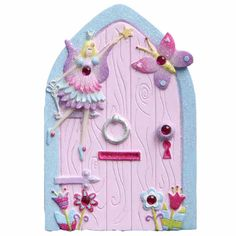 Girls age 7 will love being imaginative with this Magic Fairy Door. The perfect gift for fairy lovers.