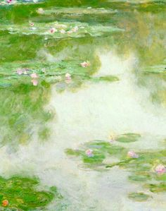 Water Lilies (detail), Claude Monet.
