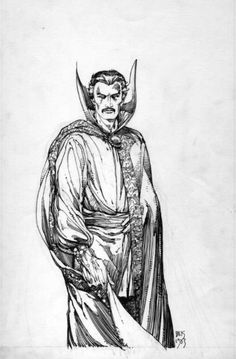 Dr. strange by Barry Windsor Smith