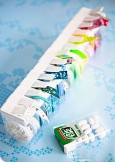 Washy Tape in Tic Tac Boxes Craft Room Storage, Craft Organization, Diy Storage, Ribbon Organization, Diy Home Crafts, Sewing Crafts, Craft Projects, Projects To Try, Ideas Prácticas