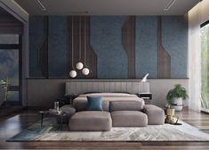 Bed Headboard Design, Bedroom Bed Design, Home Room Design, Modern Bedroom, Living Room Tv Unit Designs, Ceiling Design Living Room, Bed Back Design, Simple Bed, Interior Design Business