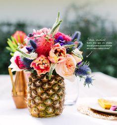Abacaxi de vaso