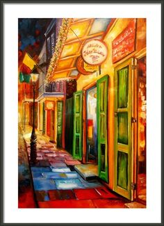 Going Back To New Orleans Framed Print By Diane Millsap