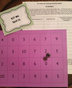 Math fact practice games for school or home