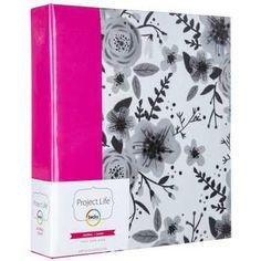 "6"" x 8"" Project Life Floral Journal Album"