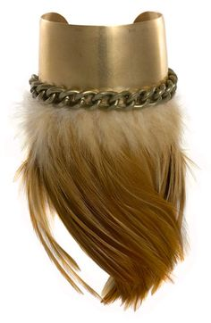 Micha Design Feather Cuff