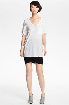 T by Alexander Wang Pocket Tee   Nordstrom Perfect Oversized tee for leggings and skinnies