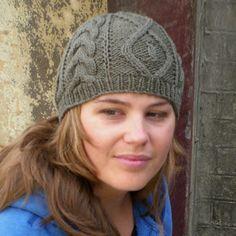 Aran-style hat pattern