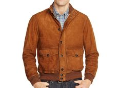Polo Ralph Lauren Suede Hunting Jacket In Santa Ana Hunting Jackets, Hunting Clothes, Suede Jacket, Leather Jacket, Mens Clothing Sale, Outerwear Jackets, Suede Leather, Polo Ralph Lauren, Mens Fashion