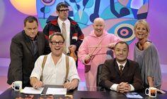 Jack Dee, Vic Reeves, Angelos Epithemiou (Dans Skinner), George Dawes (Matt Lucas), Bob Mortimer, Ulrikka Johnson :) DAMN THE BBC FOR CANCELLING THIS LEGENDARY SHOW.