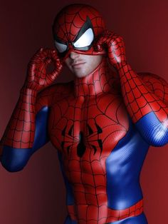 Spiderman - Spiderman/Peter Parker - Cosplay (spidey puts on mask. by SaphireNishi on DeviantArt) Costume Spider-man, Costumes, Male Cosplay, Best Cosplay, Amazing Spiderman, Marvel Art, Marvel Heroes, Cosplay Spiderman, Spiderman Spiderman