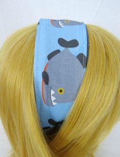 Piranha Headband by DisturbinglyAdorable on Etsy