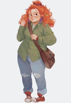 I've been wanting to re-read Eleanor and Park lately, but…I need to emotionally prepare first. Cartoon Art Styles, Cartoon Drawings, Art Drawings, Eleanor Y Park, Plus Size Art, Rainbow Rowell, Arte Sketchbook, Wow Art, Book Characters