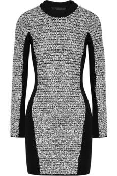 IDEAS FOR MY AUNT Alexander Wang grey and black long sleeve dress