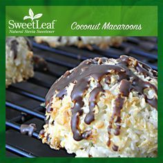 Coconut Macaroons | SweetLeaf Stevia | Featured SweetLeaf Recipes | Click the photo above for the full recipe. #stevia