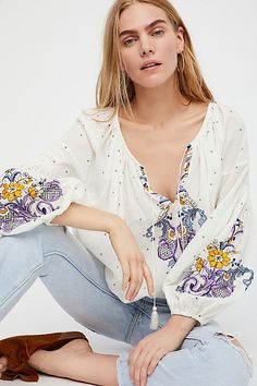 Slide View 1: Show Love Embroidered Tunic
