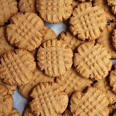 Classic Peanut Butter Cookies | These fork-tine-mashed throw-back cookies retain all the chewiness and deep toasty flavor you remember.