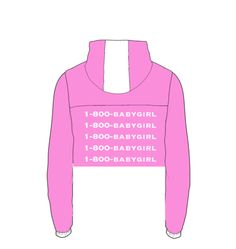 1800-BabyGirl Crop Windbreaker