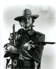 Clint Eastwood.  The Outlaw Josey Wales (1976).