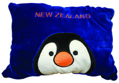 Children adore these lovable characters, they are a cuddly toy and a cushion rolled in to one!  These beautiful soft toys have a zip down the back which enables you to unzip the toy, turn the toy inside out and then zip it back up to turn the toy into a attractive cuddly cushion.  They come in a variety of cuddly characters:  PK-30352 - Lamb and PK-30351 - Kiwi .  Buy one or collect them all!  The dimensions of these soft toys are roughly 36 cm tall head to bottom and roughly 18 cm wide…