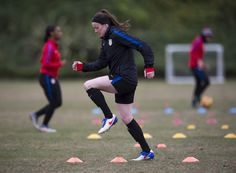 Gallery: WNT Back at It with Afternoon Training Session on Jan. 18 - U.S. Soccer
