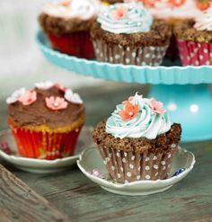 Cupcake-suklaakuorrutus  - Reseptit - Kodin Kuvalehti